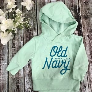 Old Navy girls hoodie, 12-18 M size